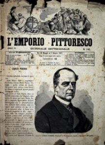 l'emporio pittoresco, articolo in memoria di carlo poerio 1867