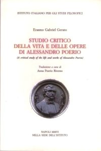 Studio critico della vita e della opere di Alessandro Poerio