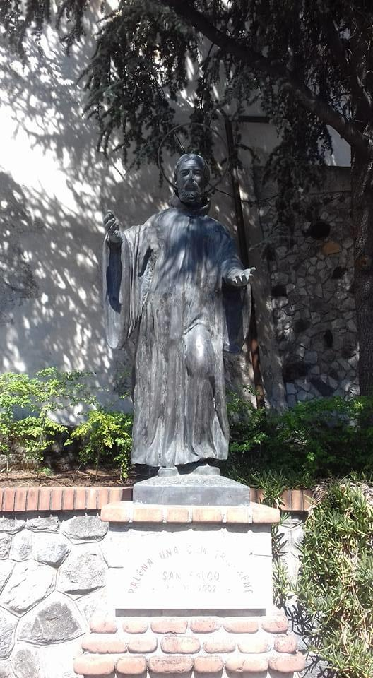 Statua di San Falco, Taverna (CZ)